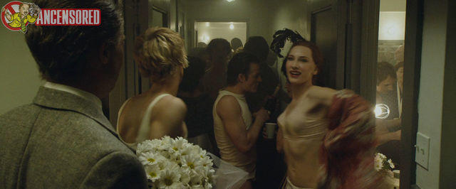 celebritie Cate Blanchett 25 years naturism picture in the club