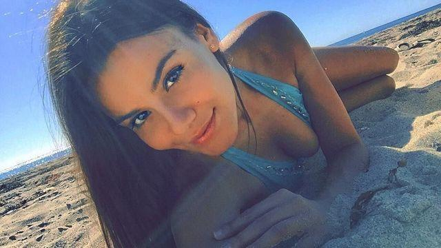 actress Madison Reed 23 years stolen snapshot home