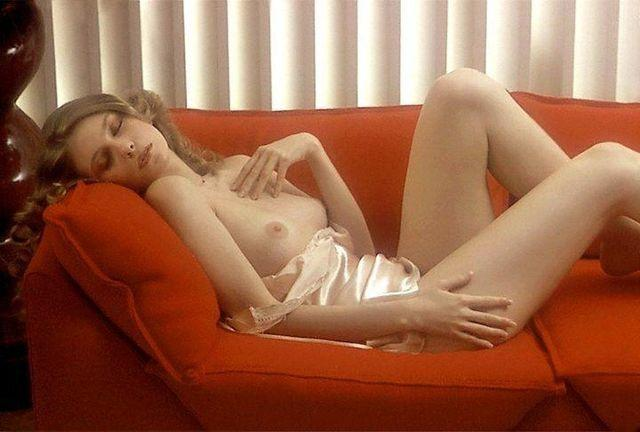 models Bebe Buell 21 years Without slip photoshoot beach