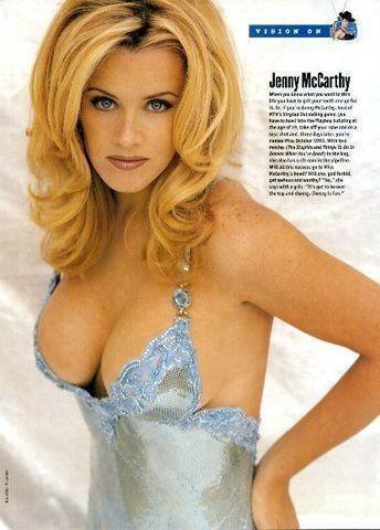 Jenny McCarthy topless photoshoot