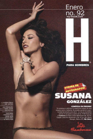 celebritie Susana González 25 years Without swimsuit picture in public