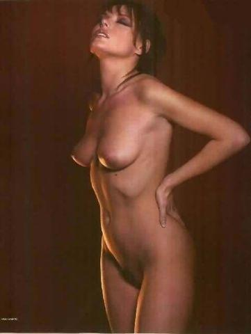 actress Pascale Bal 18 years in the buff foto in public