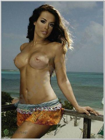 models Christina Dieckmann 23 years chest picture beach