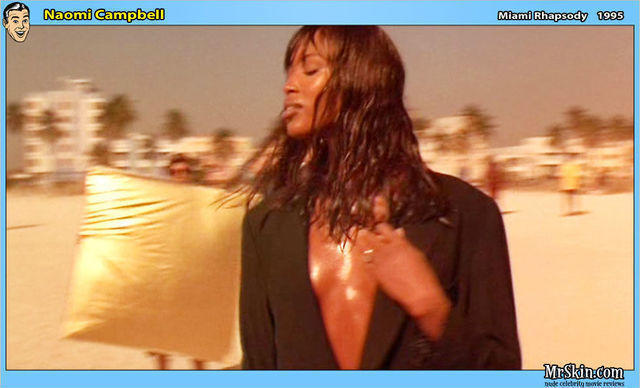 celebritie Naomi Campbell 18 years carnal pics in the club
