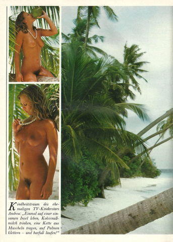 actress Andrea L'Arronge 23 years bare photo beach