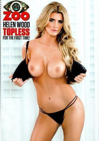 Helen Wood topless art