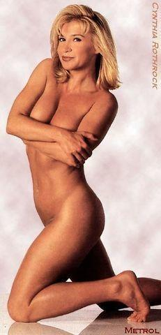 models Cynthia Rothrock 22 years in the buff photography home