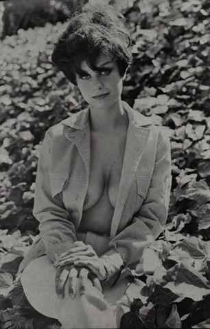 celebritie Lana Wood 23 years nudism photography beach