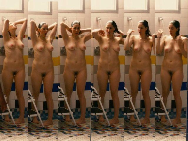 Naked Sarah Silverman photoshoot