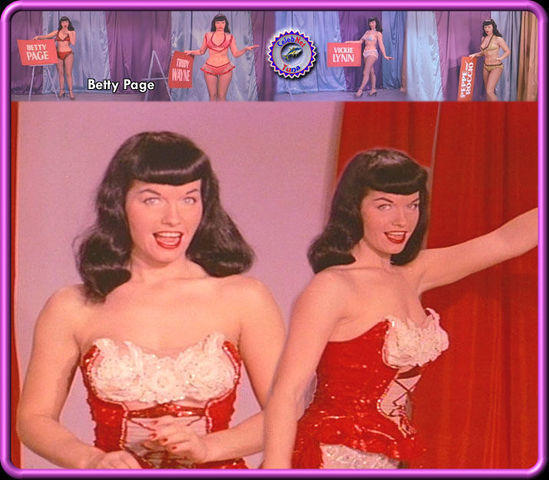 celebritie Bettie Page 20 years tits art in the club