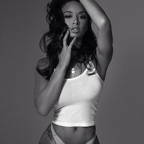celebritie Draya Michele 22 years exposed picture beach