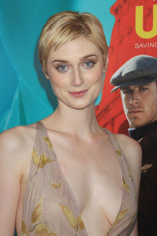 actress Elizabeth Debicki 21 years lascivious photography in the club