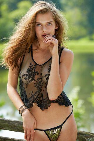 models Solveig Mork Hansen 22 years lewd photos home