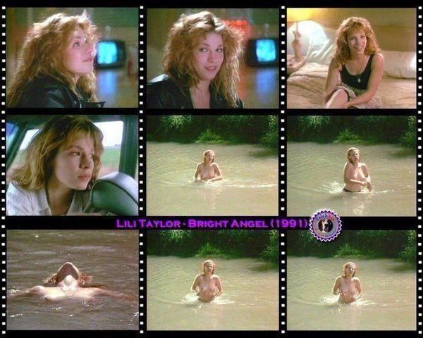 celebritie Lili Taylor 22 years Without brassiere photos in public