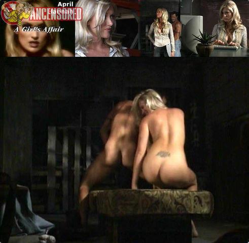 celebritie April Hannah 21 years the nude photoshoot in public
