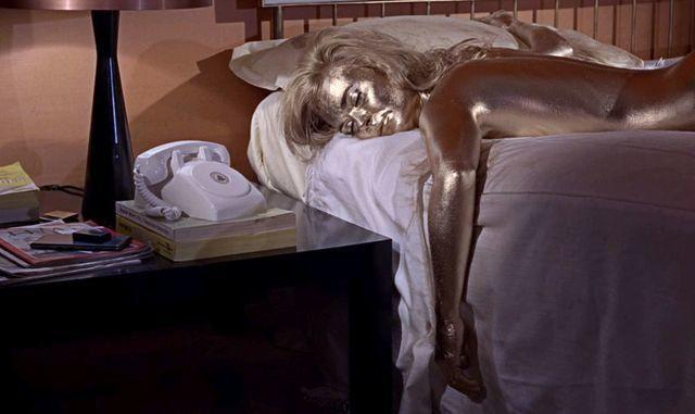 actress Shirley Eaton 25 years spicy photos home