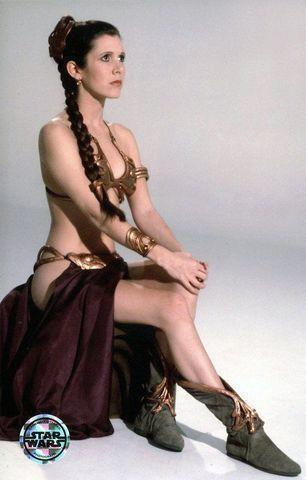 actress Carrie Fisher young salacious picture in public