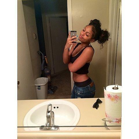 actress Bahja Rodriguez 20 years bareness snapshot in public