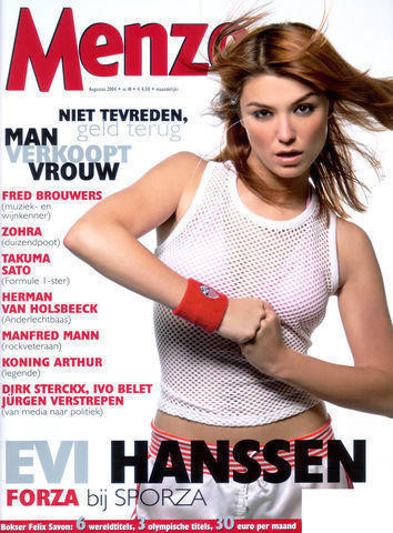 celebritie Evi Hanssen teen provoking picture home