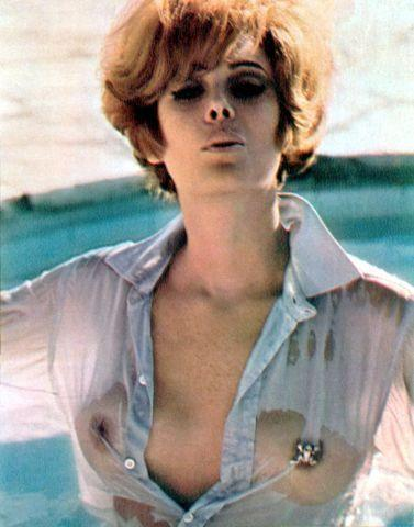 celebritie Jill St. John 2015 Hottest photo in public