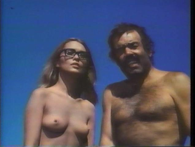 actress Alexandra Bastedo 19 years nude foto in public