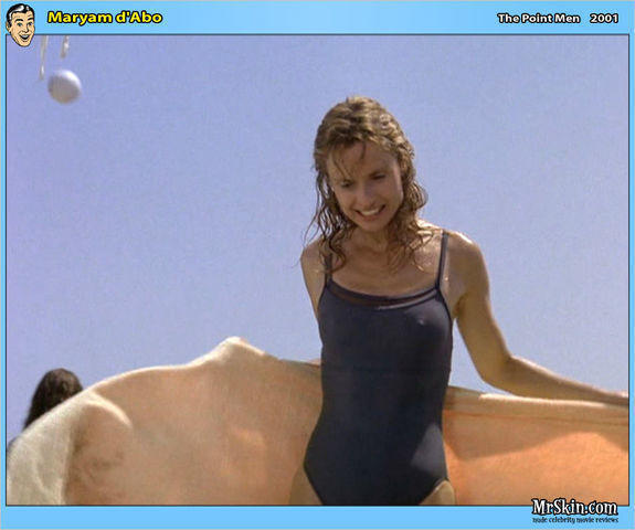 Hot picture Maryam d'Abo tits