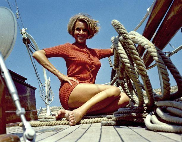 Honor Blackman nude photography