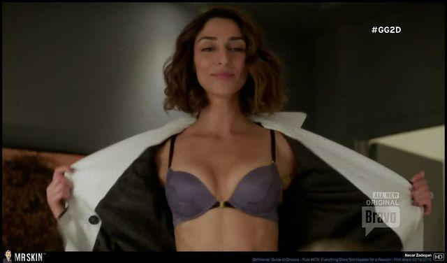 actress Necar Zadegan young voluptuous picture in the club