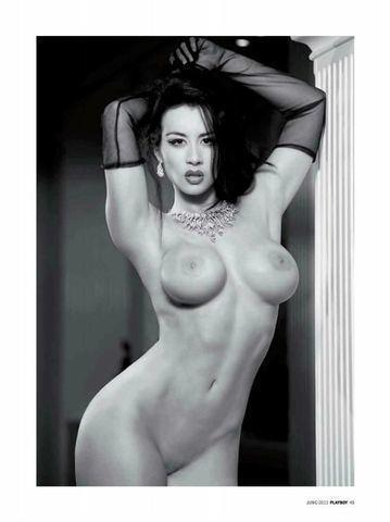 Diosa Canales topless photoshoot