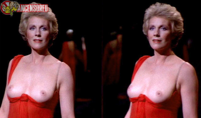 actress Julie Andrews 24 years in one's birthday suit photoshoot in public