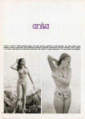 celebritie Anita Sanders 21 years flirtatious art beach
