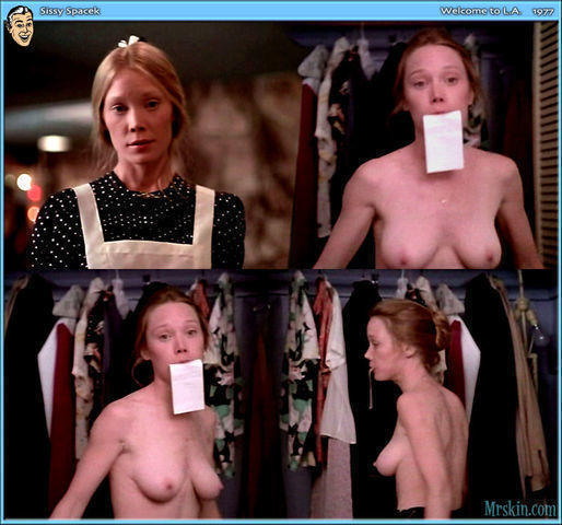 actress Sissy Spacek 22 years lecherous picture in public
