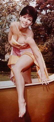 celebritie Yvonne Craig young teat picture home