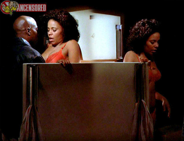 Sanaa Lathan topless photoshoot