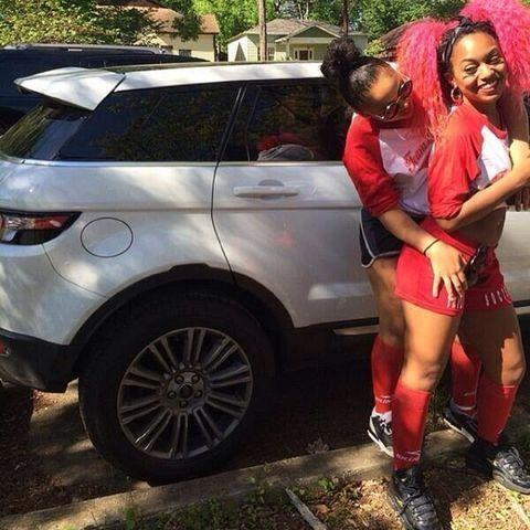 models Bahja Rodriguez 20 years sensual picture in public