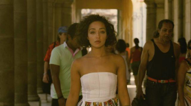 actress Ruth Negga 18 years stolen photography in the club