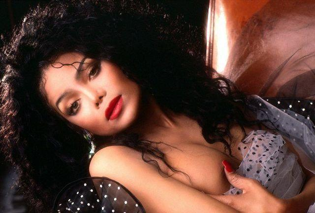 Hot art La Toya Jackson tits