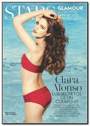Sexy Clara Alonso snapshot high density
