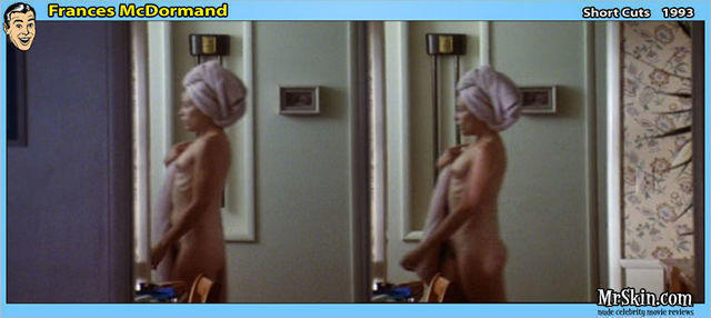celebritie Frances McDormand 24 years nudism pics in the club