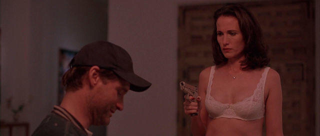 celebritie Andie MacDowell 22 years unclad photos home