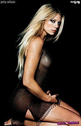 actress Peta Wilson 19 years in one's skin photography home