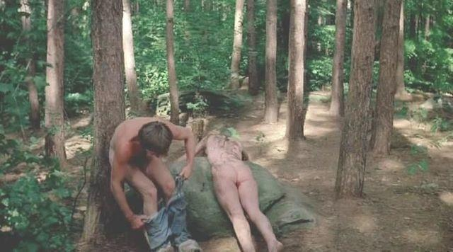 actress Camille Keaton young naturism snapshot home