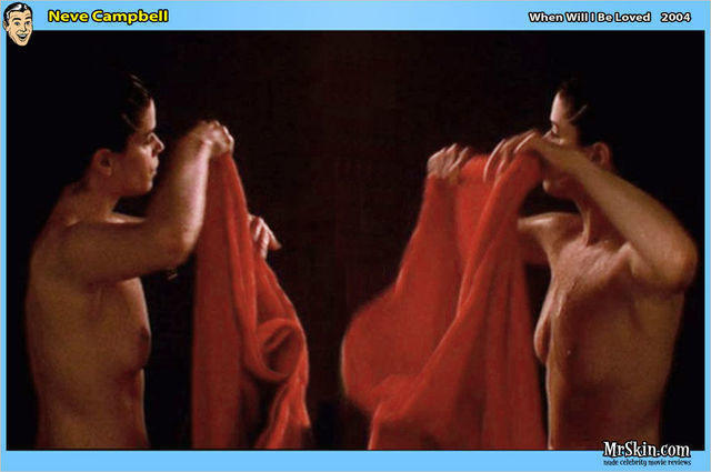 Naked Neve Campbell foto