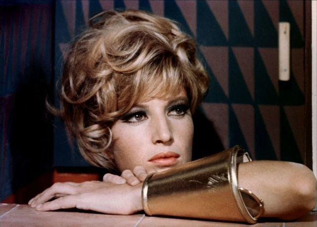 Monica Vitti topless photography