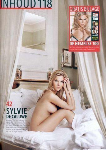 models Sylvie De Caluwe 19 years bawdy image in the club