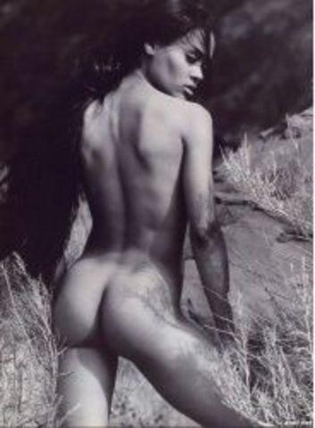 Robin Givens topless photoshoot