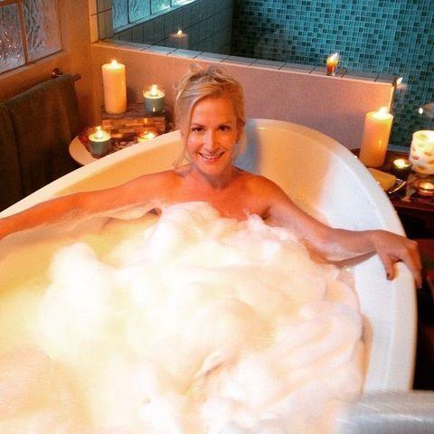Naked Angela Kinsey photo