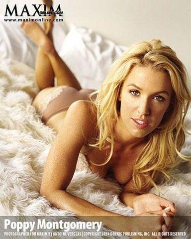 Poppy Montgomery topless photography