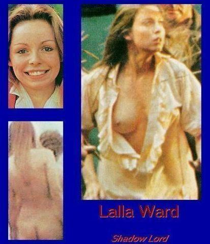 celebritie Lalla Ward 18 years sensuous foto in the club
