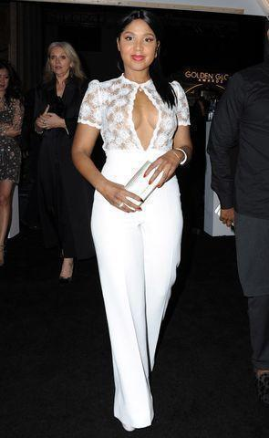 actress Toni Braxton 19 years hot image in the club